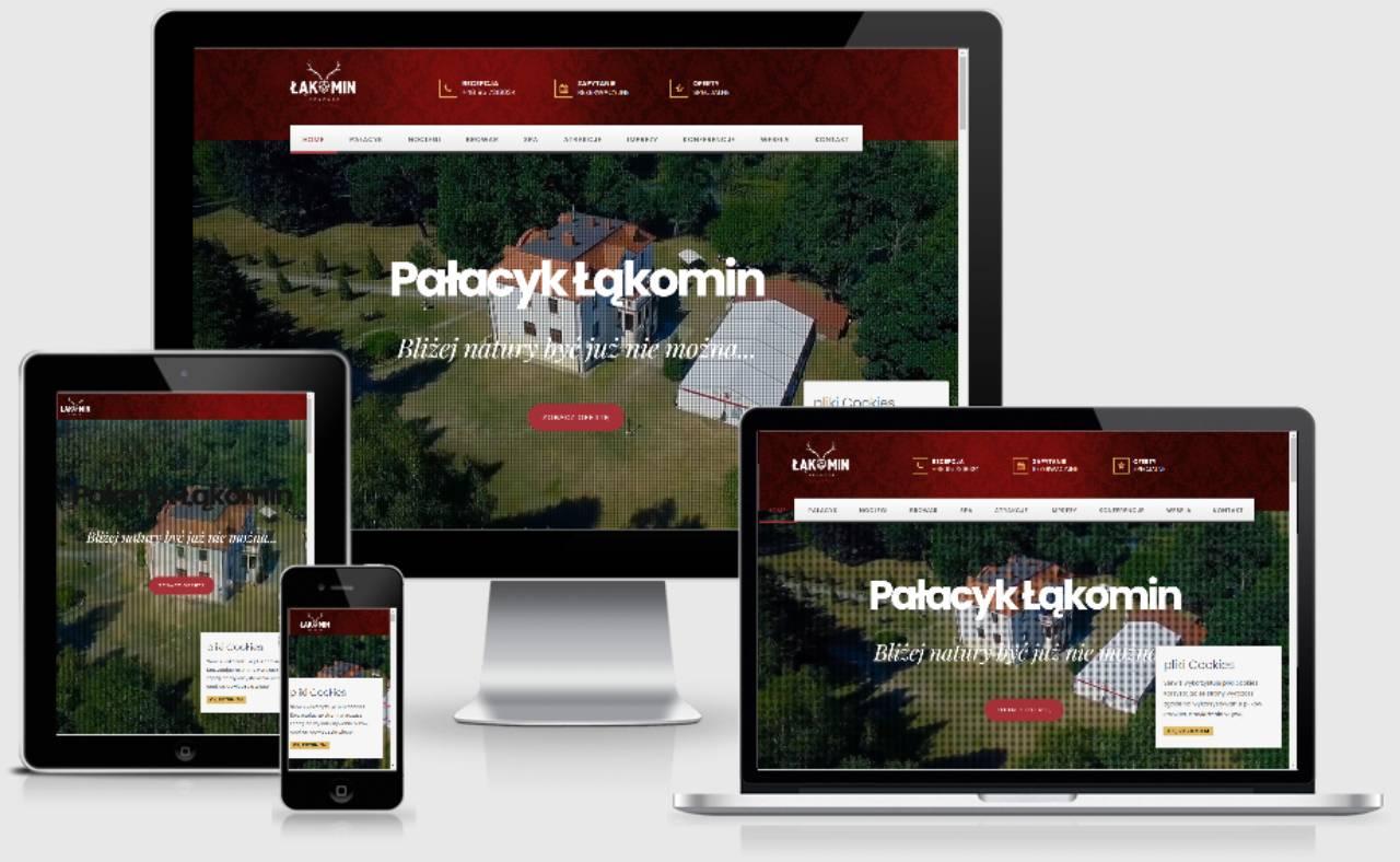 ROAN24 Palace Łąkomin Website Responsiveness