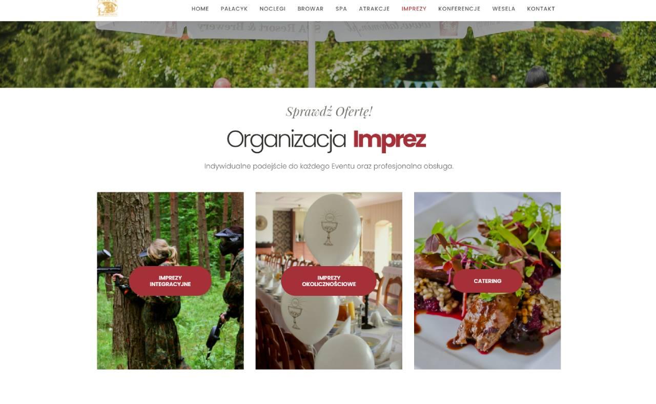 ROAN24 Łąkomin Palace Website Events