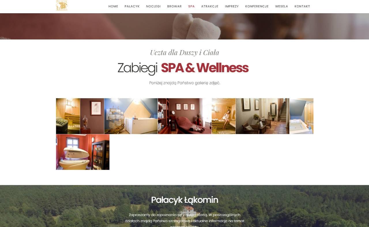ROAN24 Palace Łąkomin SPA Website