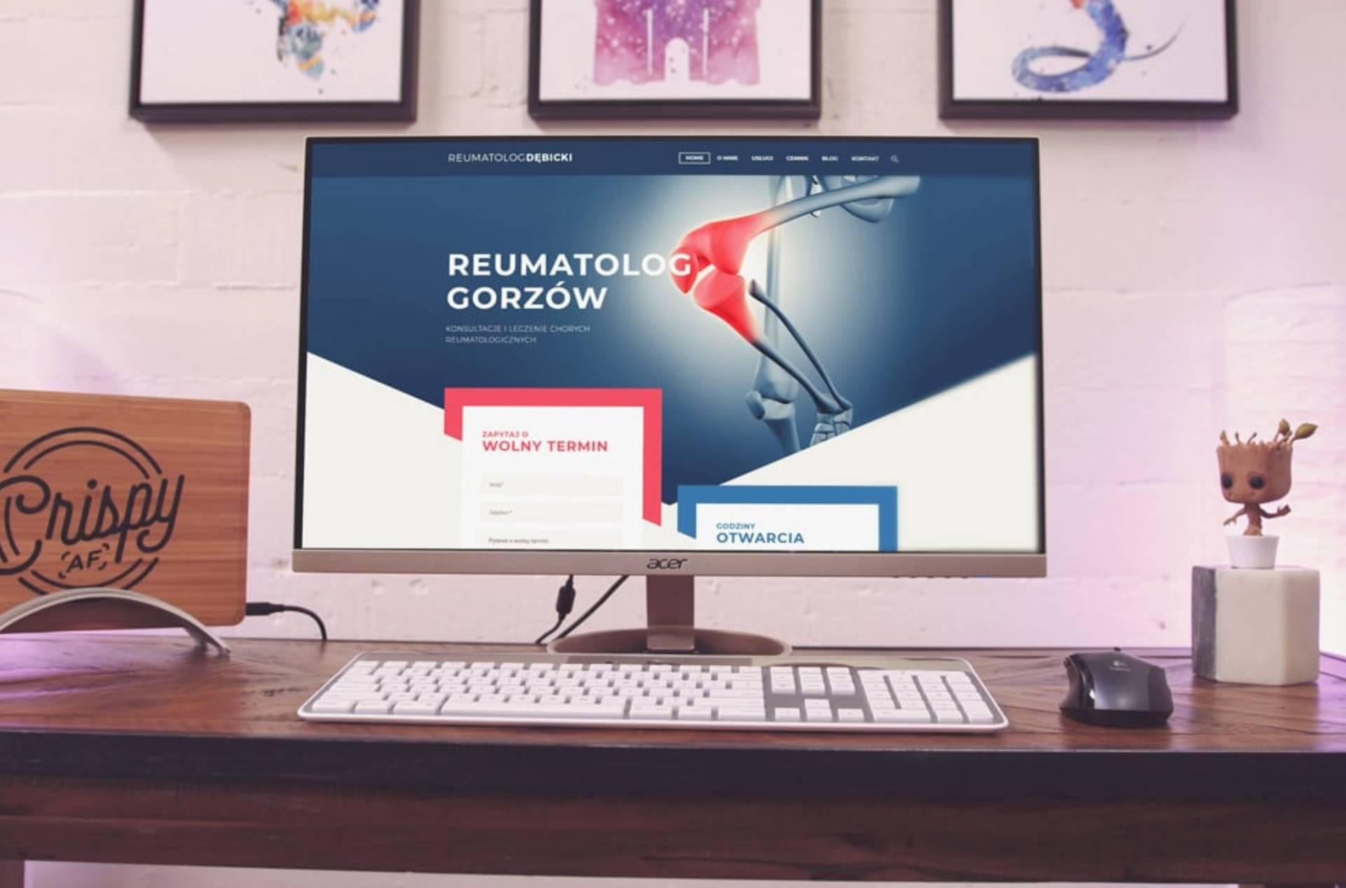Roan24 Rheumatologist Debicki.pl Website