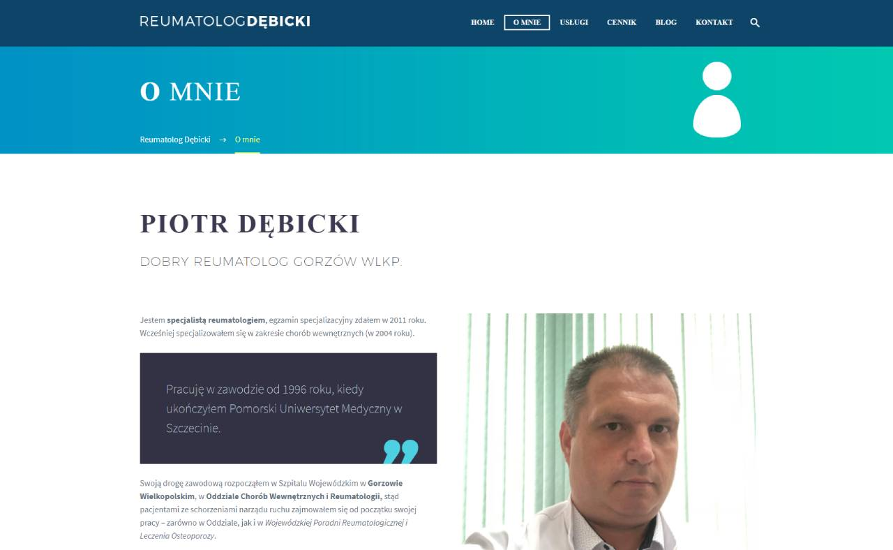 Roan24 Rheumatologist Debicki.com About Me