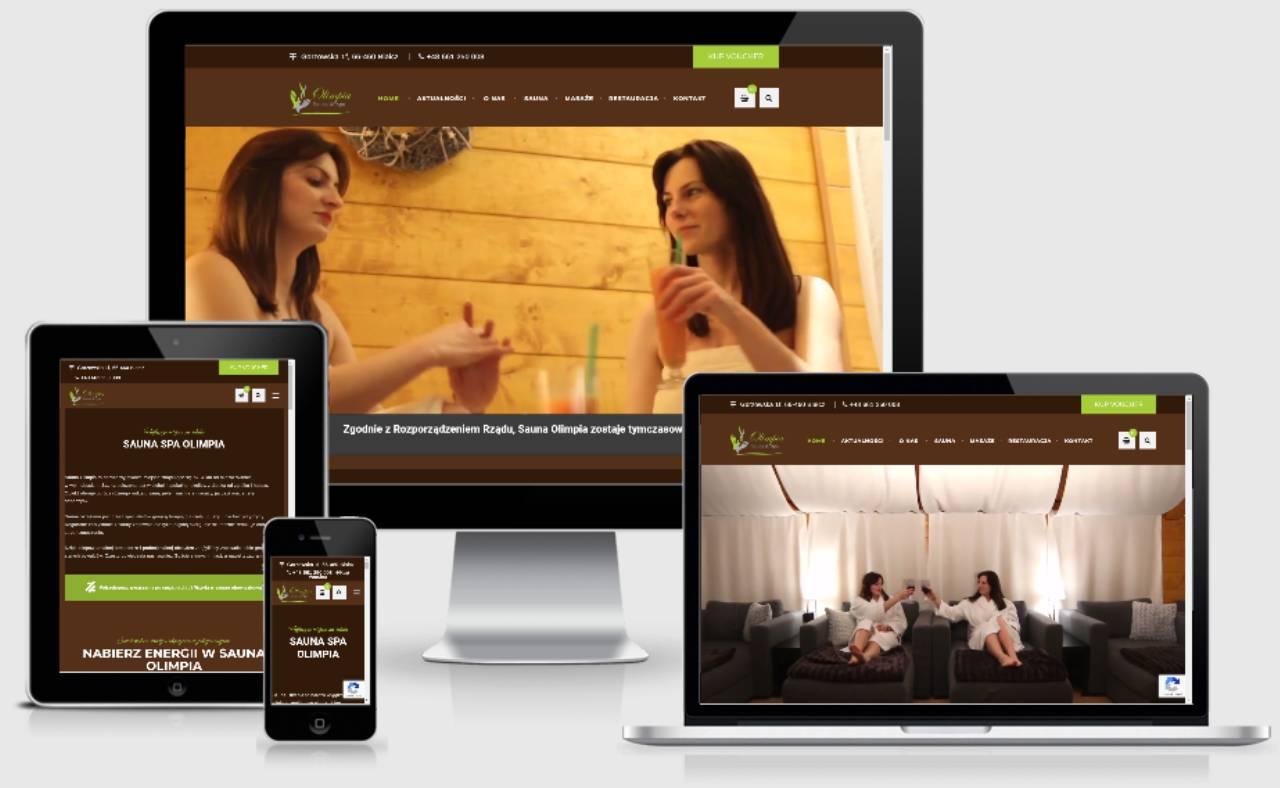 ROAN24 Sauna Olimpia Website Responsiveness