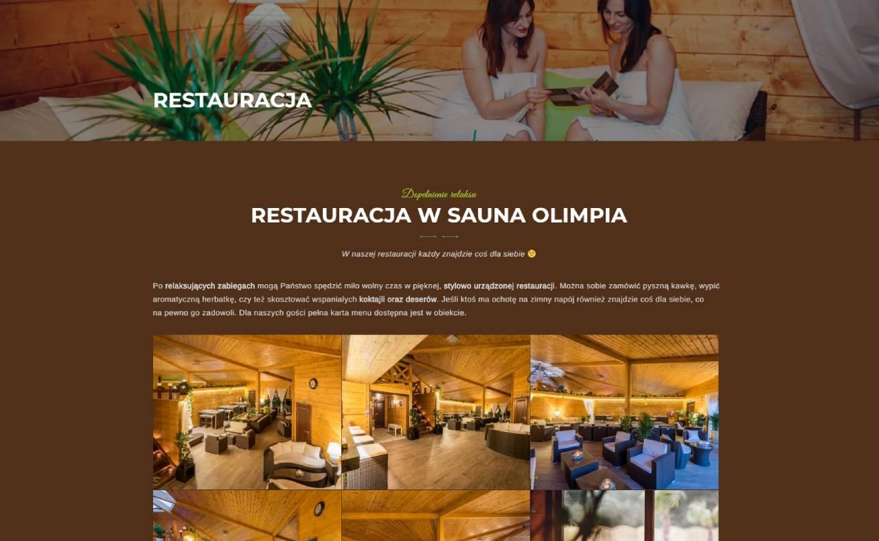 ROAN24 Sauna Olimpia Website Restaurant